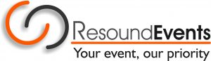Logo Resound Events - Your event, our priority
