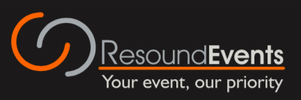 Resound Events - Your event, our priority logo
